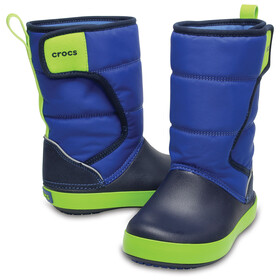 Crocs LodgePoint Snow Boot Kids Blue Jean/Navy